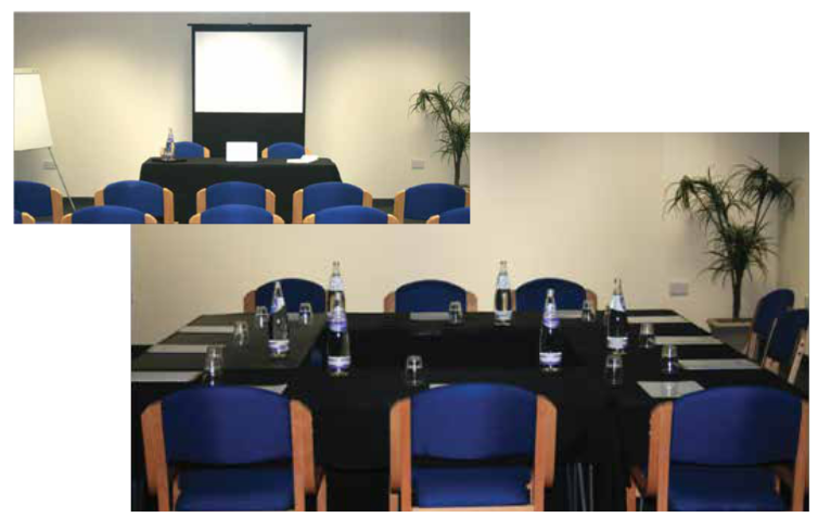 Big Shed Conference and meeting rooms in Leicester conference room 2 pics